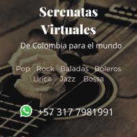 Serenata virtual de cumpleaños y para cualquier ocasión por videollamada (Serenata online)