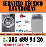 REPARACIÓN DE LAVADORAS CEL : 305 488 94 26 VILLA DEL PRADO